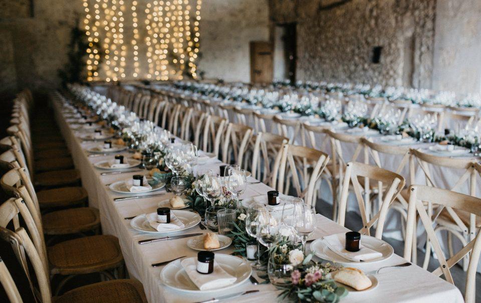 Pranzo per festa matrimonio